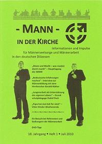 Mann in der Kirche 2010-01 Coverbild