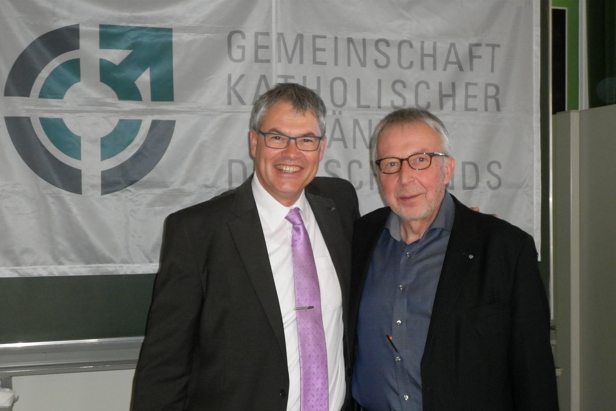 Stephan Buttereit und Franz-Josef Schwack